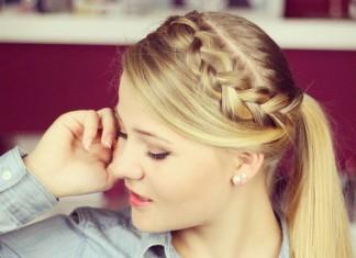 schnelle und einfache-Frisuren