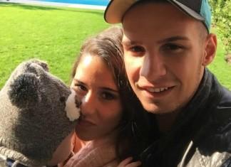 Sarah und Pietro Baby Alessio Lombardi