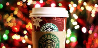 Weihnachten-Starbucks