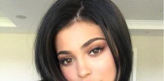 Kylie Jenner braune Haare