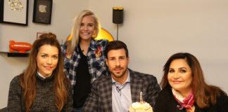 Dagi Bee bei Promi Shopping Queen mit Leonard Freier, Jasmin Taylor und Annett Möller