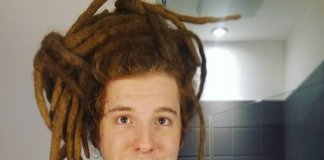 Simon Unge Dreadlocks