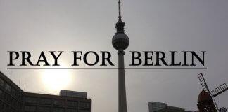 Pray for Berlin und Ich bin ein Berliner