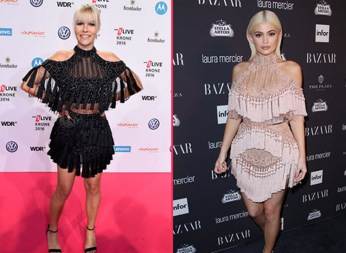 Dagi Bee Kylie jenner Balmain Kleid