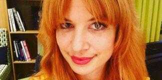 Susan Sideropoulos rote Haare