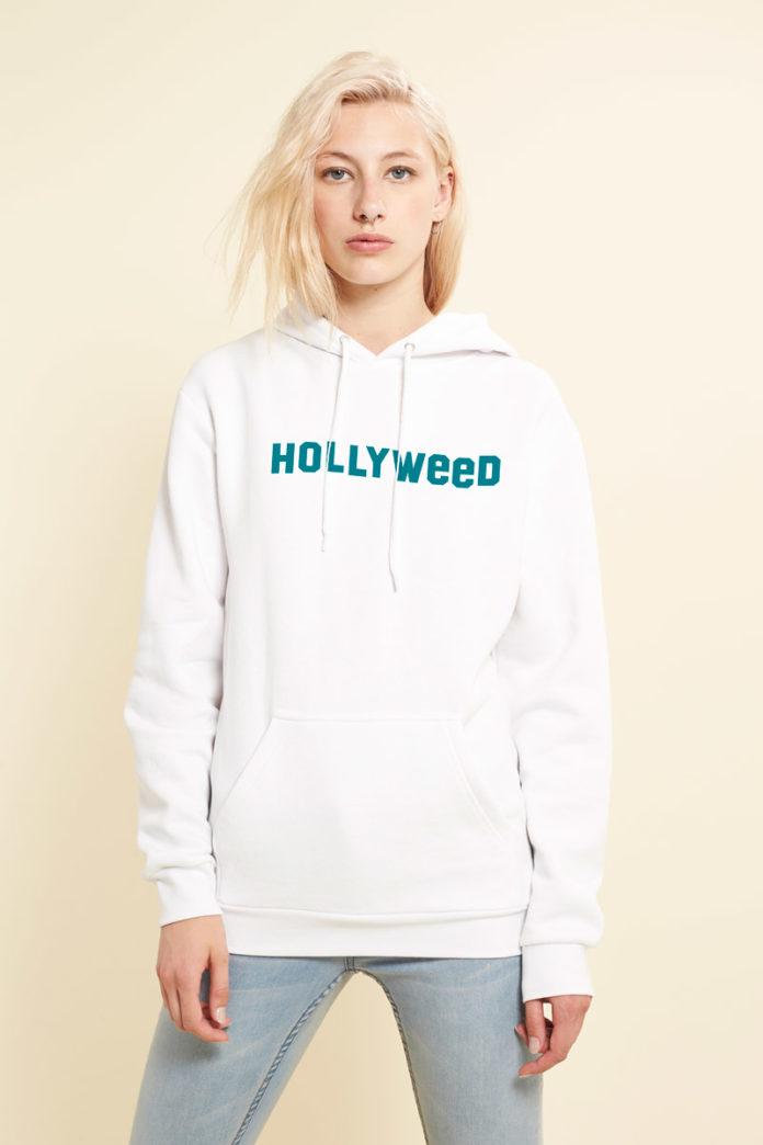 RAD HOLLYWEED HOODIE WHITE