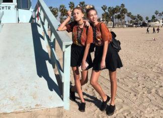Lisa und Lena sind in Los Angeles