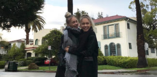 Lisa und Lena Los Angeles Schule
