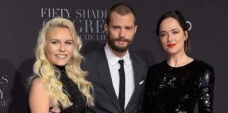 Dagi Bee, Jamie Dornan, Dakota Johnson Fifty Shades of Grey 2 Premiere Hamburg