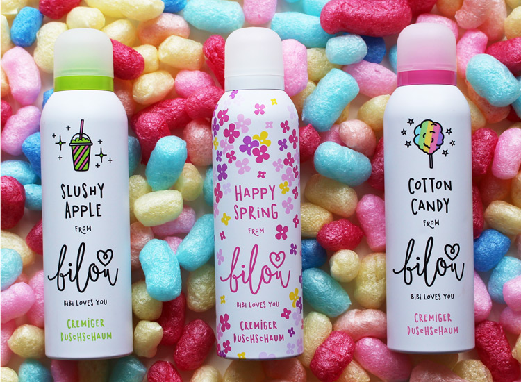 Die neuen Bilou Sorten Slushy Apple, Happy Spring und Cotton Candy