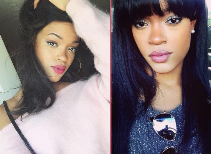 diese Doppelgängerin sieht aus wie Rihanna