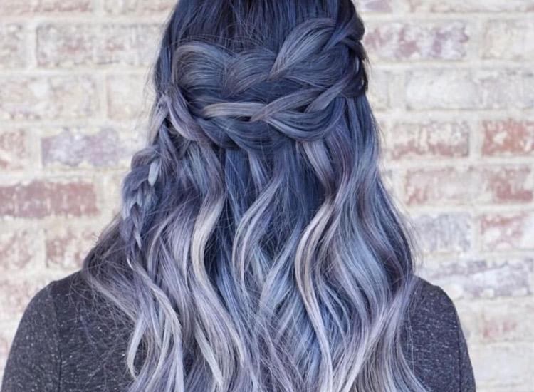 Denim Hair Jetzt Tragen Wir Jeans Auf Dem Kopf STARZIP