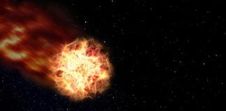 Komet rast im April 2017 an Erde vorbei