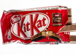 Neste Kitkat besteht aus alten Kitkats