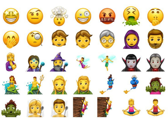 Neue Emojis 2017