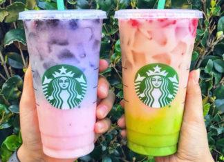Starbucks Pink Purple Drink und Matcha Pink Drink