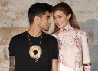 Zayn Malik und Gigi Hadid sind happy