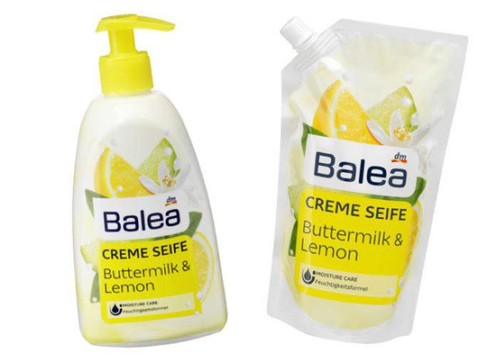 DM Balea Rückruf: Die Buttermilch & Lemon Seife