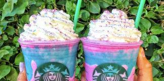 Einhorn Frappuchino von Starbuck