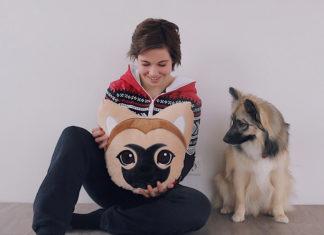 Melina Sophie und das Godi Kissen