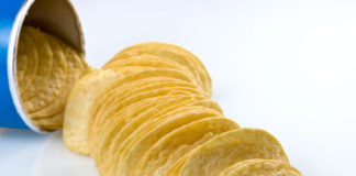Pringles Chips richtig essen