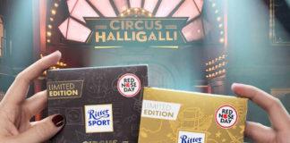 Ritter Sport Circus Halligalli für den Red Nose Day