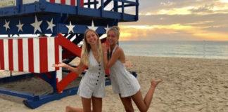 Lisa und lena wollen Hopllywoodstars in den USA werden