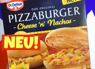 Pizzaburger Cheese n Nachos von Dr Oetker