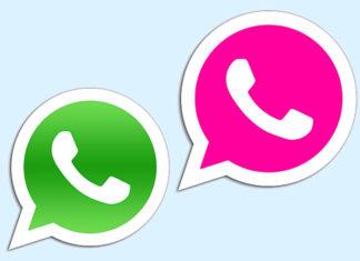 Si bekommst du dein Whatsapp-Logo pink