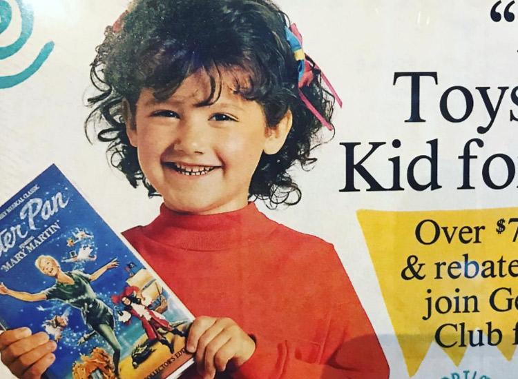 Ashley Tisdale posierte als Kind für Werbung