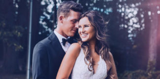 Mary M Hochzeit: Ihr Brautkleid
