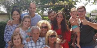 Sarah Lombardi mit Familie und Michal T.