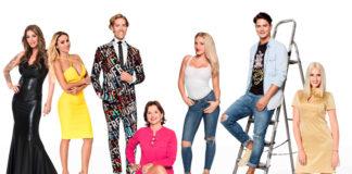 Ein paar der Promi Big Brother 2017 Kandiaten
