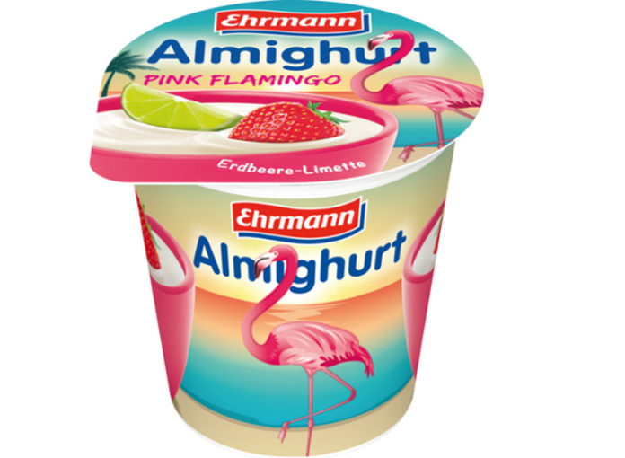 Flamingo Joghurt von Ehrmann Almigurt
