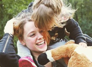 Anne Anne Wünsche mit Tochter Miley Tochter Miley