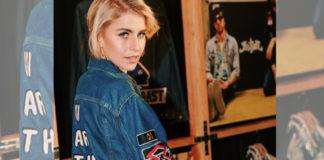 Caro Daur hat eine Levis-Jacke designt