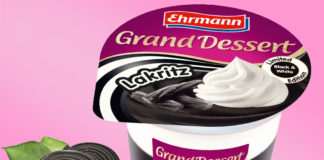 Ehrmann Grand Dessert Lakritz Pudding