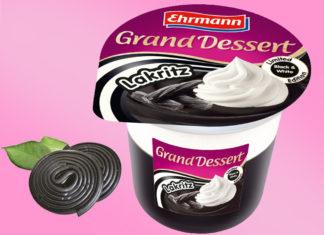 Ehrmann Grand Dessert Lakritz Pudding