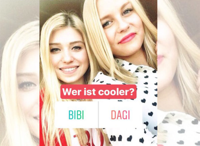 Instagram Stories Umfrage