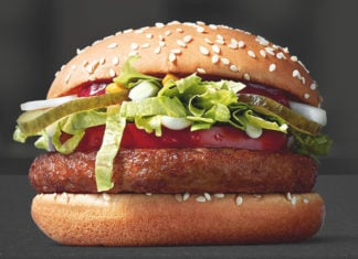 McDonalds McVegan Burger Deutschland