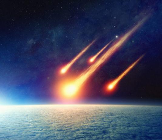 Raumstation stürzt ab