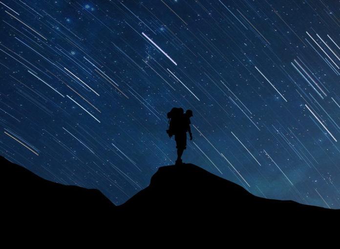 Sternschnuppennacht Oktober 2017: Sternschnupoen und Meteoriden kommen