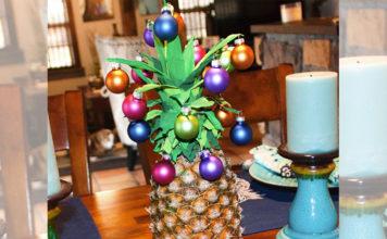Ananas-Weihnachtsbaum