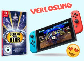 Schlag den Star-Gewinnspiel: Wir verlosen 5 x Game + eine Nintendo Switch-Konsole