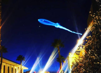 Ufo in Los Angeles SpaceX