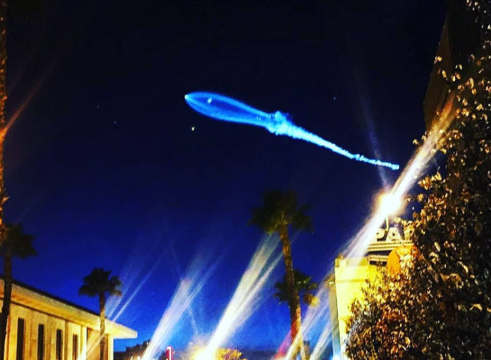 SpaceX-Rakete löst Ufo-Alarm aus