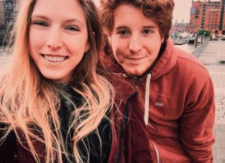 Unge und seine neue Freundin Sabine