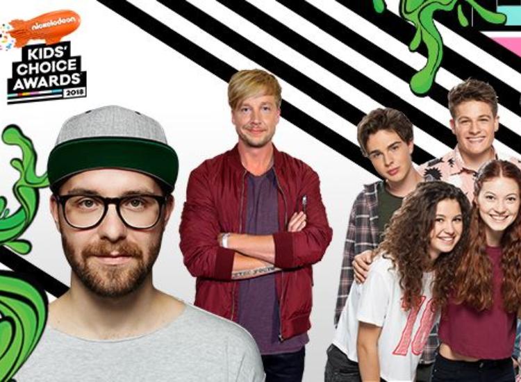 KCA 2018 Kids Choice Awards nominierte