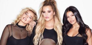 Ivana Santacruz und Sarina Nowak modeln für Khloe Kardashian