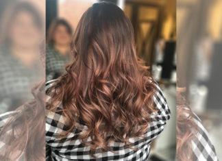 Im Frühling tragen wir die Haare rose-braun
